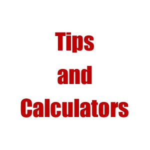 Tips and Calculators