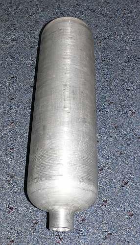 Aluminum Pressure Vessel Tank Bottle