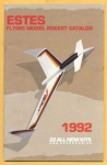 Estes 1992 Flying Model Rocket Catalog