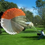 Large Man-Rated Parachute