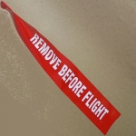 RBF9 Remove Before Flight in Red or Orange